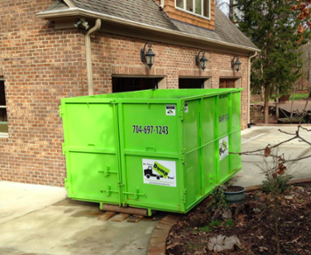 spring is a perfect time for renting a dumpster