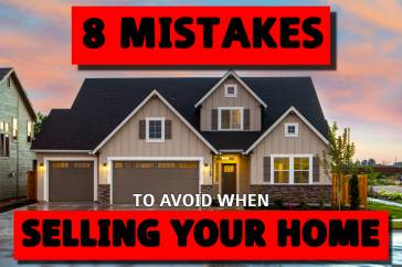 8 mistakes when selling your home