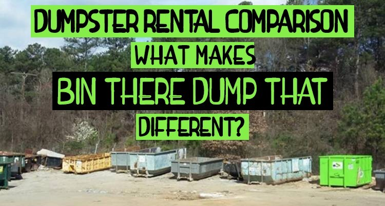 Comparing Dumpster Rental Services
